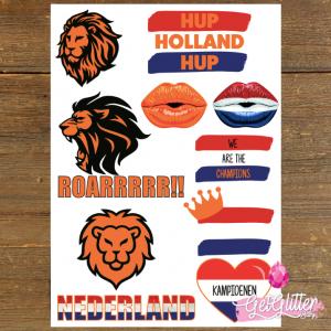 Tattoo Sticker The Netherlands